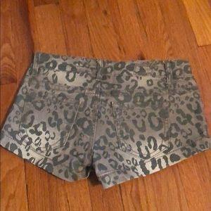 First Kiss Shorts - First Kiss Jean Shorts